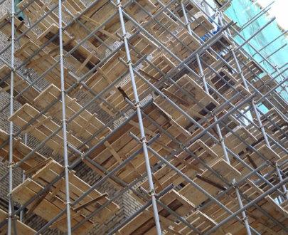 Хомутовые строительные леса ЛСПХ 60